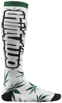Thirtytwo Yesca Mens Sock White F9-snow-Alta