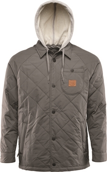 Thirtytwo Myder Hooded Jacket Grey-jackets-Alta