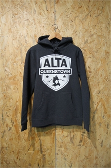 Alta Stencil Hood Lg Patch Asphalt Marle-crews and hoodies-Alta