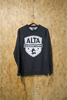 Alta Box Crew Lg Patch AsphM-crews and hoodies-Alta