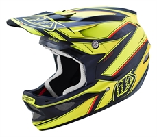 Troy Lee D3 AS Carbon Reflex Yellow-accessories-Alta