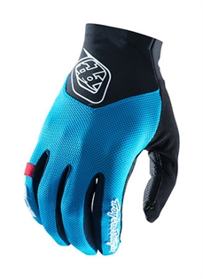 Troy Lee Ace 2.0 Glove Cyan-gloves-Alta