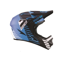 7iDP M1 Helmet Tactic Matt BLUE Black Wh-accessories-Alta