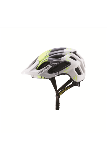 7iDP M2 Helmet Tactic GREY Yellow Black