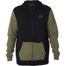 Fox Win Mob Zip Fleece Fatigue Green-crews and hoodies-Alta