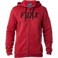 Fox District 2 Zip Fleece Dark Red