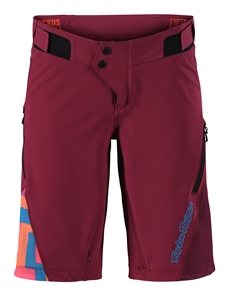 Troy Lee Ws Ruckus Short Shell Burgundy-shorts-Alta