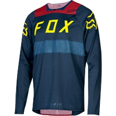 Fox Flexair LS Jersey Midnight-jerseys-Alta