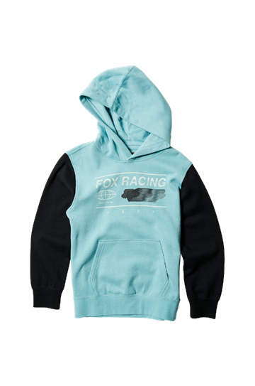 Fox YOUTH Global PO Flce Hoody Citadel
