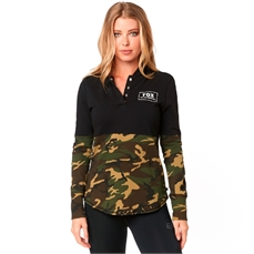Fox Wms Satellite LS Knit PO Hoody Camo-crews and hoodies-Alta