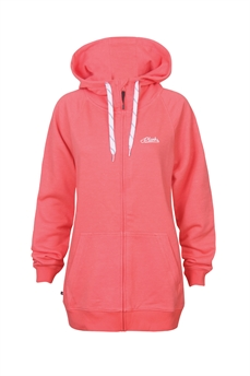 Planks W Zip Hood Mtn Supply Co Coral-crews and hoodies-Alta
