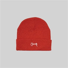 Crate Scripted Beanie Red-headwear-Alta