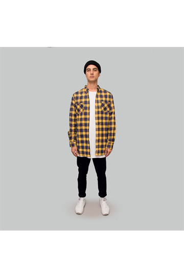 Crate AW19 Flannel Shirt Yellow