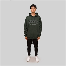 Crate Varsity Hoodie Forest-crate-Alta