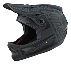 Troy Lee D3 AS Fiberlite Factory Camo Gray-troy lee-Alta