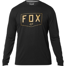 Fox Shield LS Tech Tee Black-tees-Alta