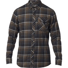 Fox Gamut Stretch Flannel Black-jerseys-Alta