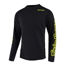 Troy Lee Sprint Jersey Blk/FloYellow-troy lee-Alta