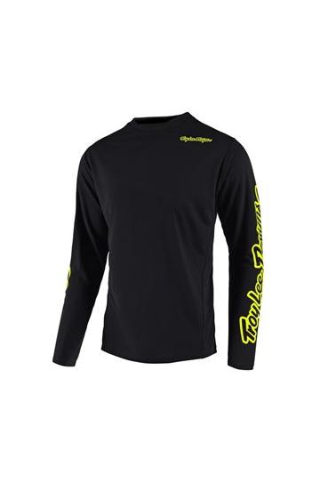 Troy Lee Sprint Jersey Blk/FloYellow