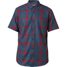Fox Brake Check SS Woven Navy-shirts-Alta
