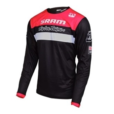 Troy Lee Sprint Jsy SRAM TLD Racing Blk YOUTH-troy lee-Alta