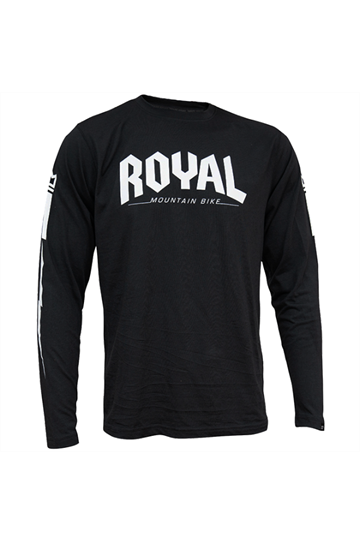 Royal Racing Core Jsy LS Black-Black