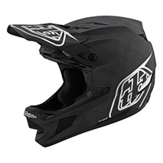 Troy Lee D4 AS Carbon Stealth Black/Silver-troy lee-Alta