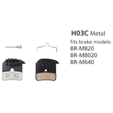 BR-M820 Metall Pad H03C Ice Tech-bike components-Alta