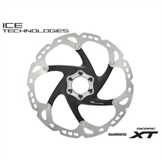 SM-RT86 Disc Rotor 203mm XT Ice-Tech 6 Bolt-bike components-Alta