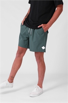 RPM Nylon Boardie Teal-shorts-Alta