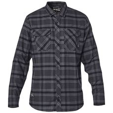 Fox Fusion Tech Flannel LS Shirt Blk Vintage-mens-Alta