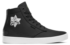 Etnies Jameson HT X Pyramid Country Blk Wht Gum-footwear-Alta
