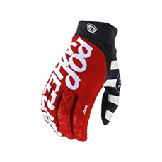 Troy Lee Air Glove Pop Wheelies Red-mens-Alta